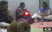 NSPA: AnandaBhairavi - Carnatic Lullaby