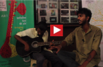 """Rahul and Rohit performing Marathi folk fusion"" - Mumbai Central launch"