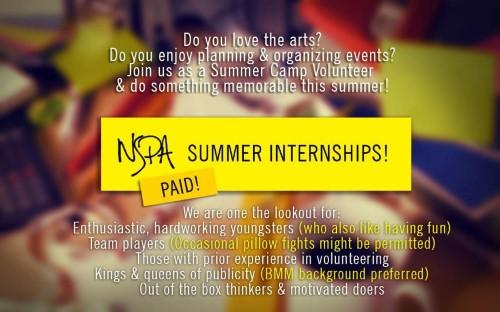 NSPA Internship