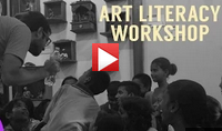 Art Literacy Workshop at Dharavi