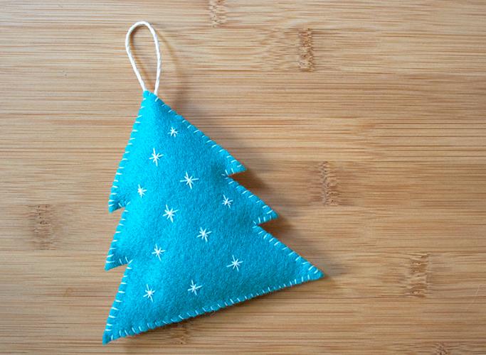 DIY of the Week - Felt Christmas Tree Decorations