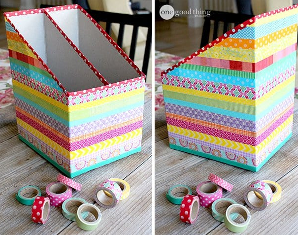 DIY of the Week - Cereal Box Organizers
