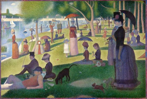 Pointillism: An Art Movement making a Serious Point