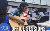 NSPA Office Sessions | Rohit Astekar - Freestyle Guitar (Indian Classical)